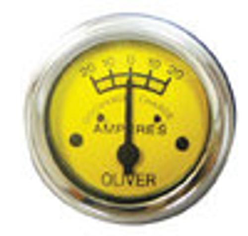 Oliver Style Ammeter Gauge