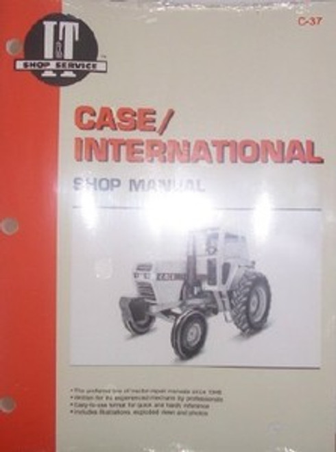 Case/International IT shop manual 2090 2094 2290 2390