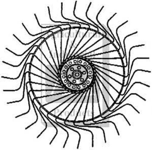 Vicon Rake LH Wheel Complete 90095862