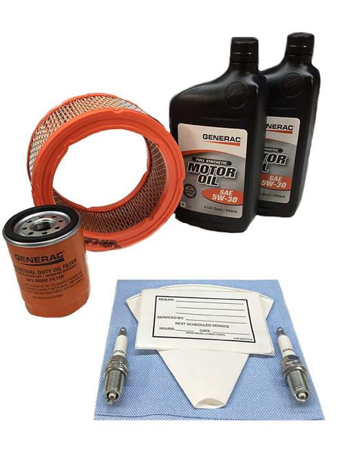 Generac  Maintenance KIT 760/990 EXT 5W30 Synthetic Oil  0J57670SSM