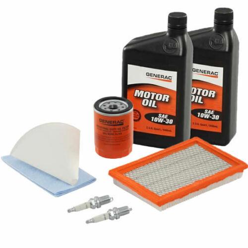 Generac 14-17KW Maintenance Kit for 2013 Evolution Standbys w/ 10W-30 Oil