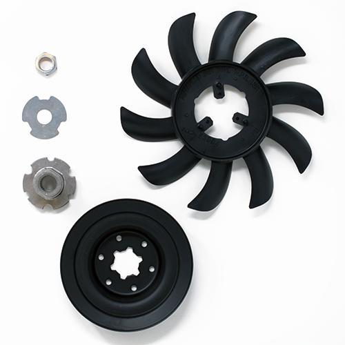 Hustler Raptor & Raptor SD Hydraulic Fan/Pulley Kit (602094)