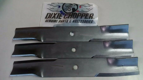 "Dixie Chopper OEM Mower Blade Set of 3 30227-60H 60"" High Lift"