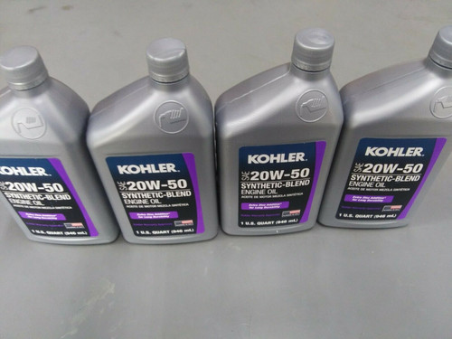4 Quart Special OEM Kohler SAE 20W50 Engine Oil