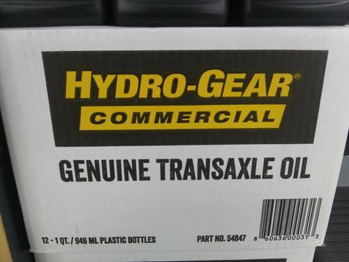 Hydro-Gear 72751 12 Qt CASE Genuine Transaxle Fluid 54847