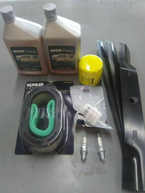 """Raptor SD & Flip-Up Tune-up Kit (Kohler KT 1608304-S) 54"""""""