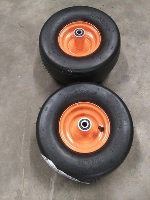 2 SCAG Genuine OEM Wheel Assembly 11X6.00-5 485939