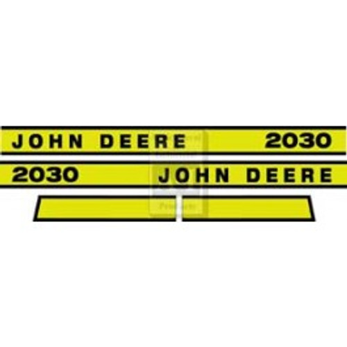 A&I Brand JD 2030 Hood Decal Set