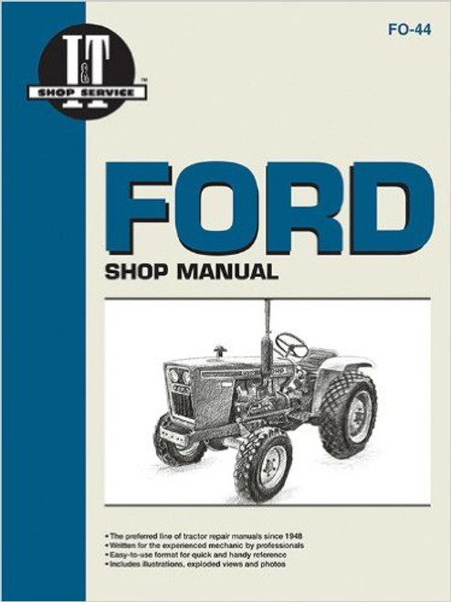 Ford Tractor IT Service Manual For Compact Models