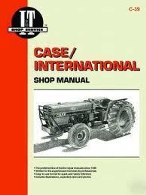 Case/International IT shop manual 385 485 585 685 885