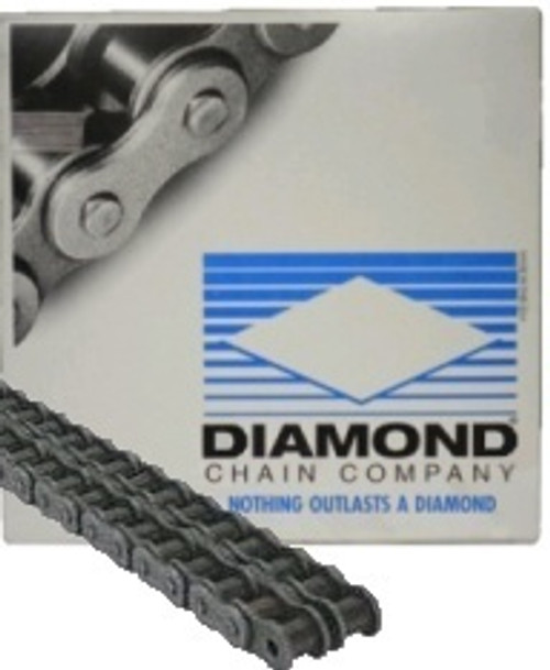 Diamond USA Roller Chain Size 50-2  10ft Roll
