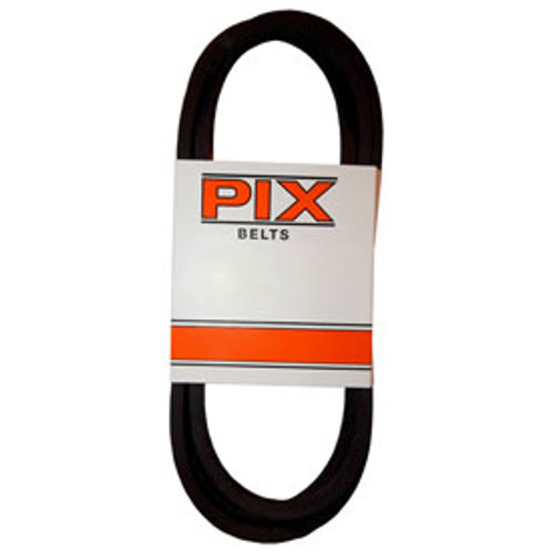 "PIX AA128 Double Angle V Belt  1/2"" X 130"""