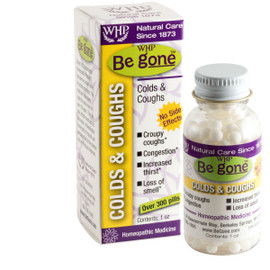 WHP Be gone™ Colds & Cough 1oz - Out of Stock until July 2021