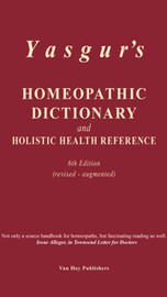 Homeopathic Dictionary - Yasgur - 6th Edition