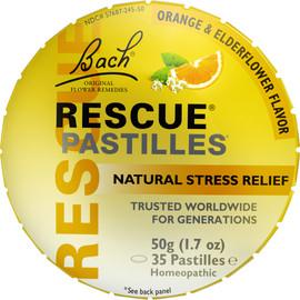 Rescue® Pastilles (Orange & Elderflower Flavor)