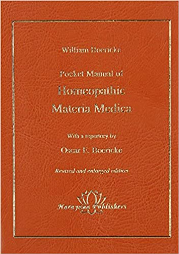 Pocket Manual of Homeopathic Materia Medica - Out of Stock