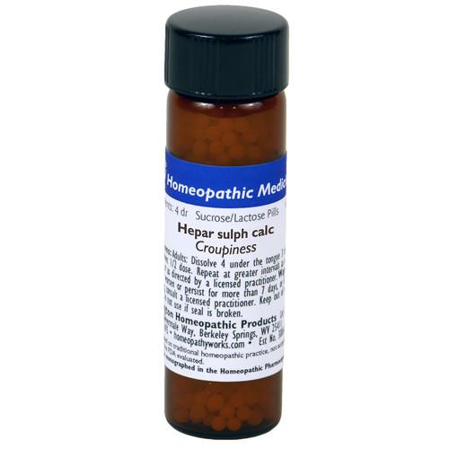 Hepar Sulphuris Calcareum Pills