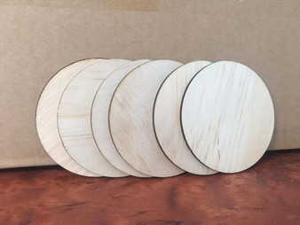 100mm Ply Wood rounds
