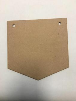 MDF wooden Shield