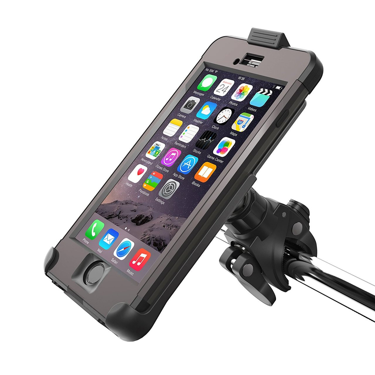 new style 9fed3 c10c5 Encased LifeProof Bike Mount For LifeProof FRE iPhone 8/7/6/6S (case not  included) (Quick Release Handlebar Dock)