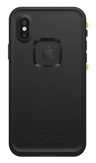 buy online 1279e e80c5 LifeProof FRE Case for iPhone X - Black/Lime