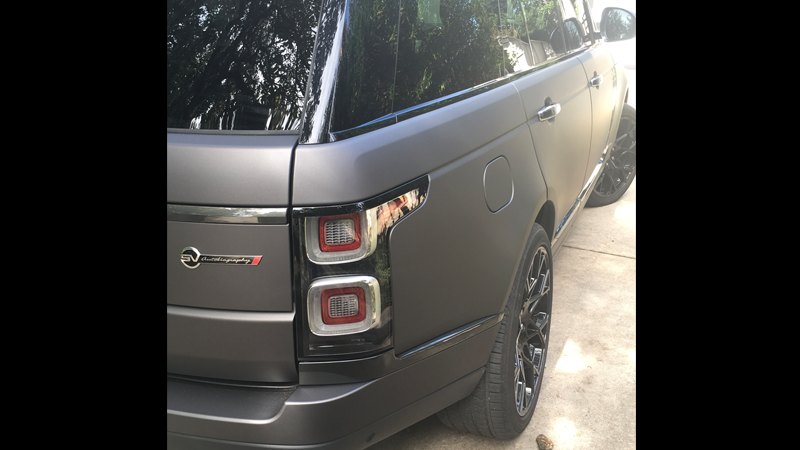 Wrapped in CheetahWrap Matte Charcoal Metallic by LE Wraps in Oklahoma City (lewraps.com)
