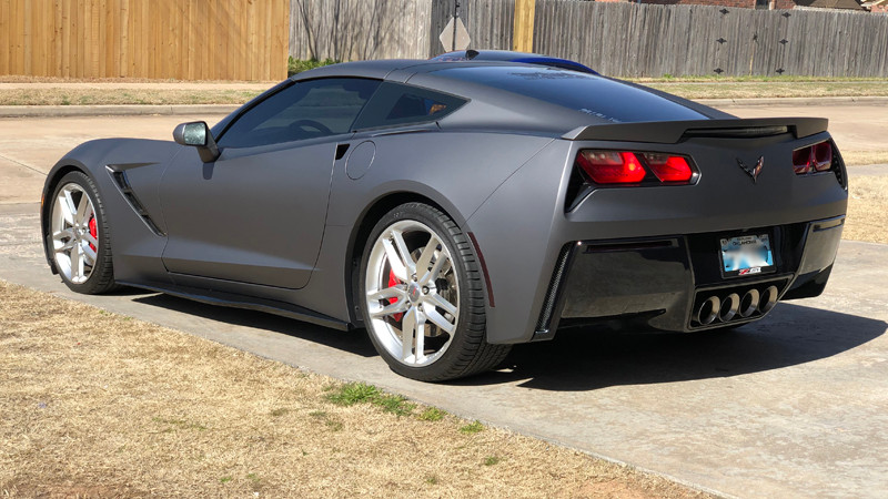 Wrapped in CheetahWrap Matte Charcoal Metallic by FSM Auto Restyling (fsmautorestyling.com)