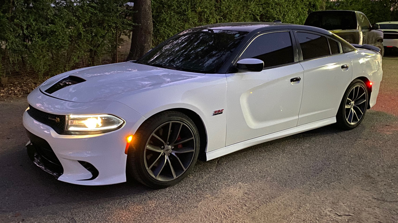 Gloss White wrap by Sticky Franchise in Memphis, TN