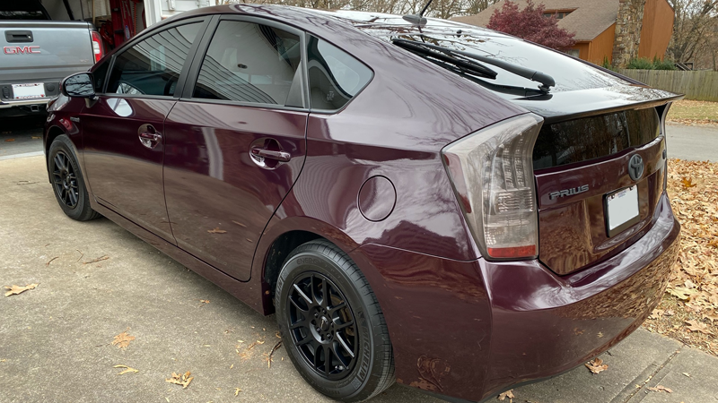 Gloss Black Rose wrap by Mike Hayslip in Neosho, MO