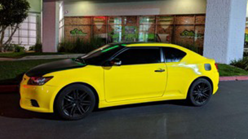 Gloss Bright Yellow wrap by Gator Wraps (gatorwraps.com)