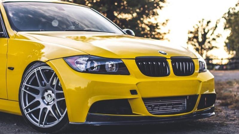 Gloss Bright Yellow wrap by Auto Pro Wraps in Santa Rosa, CA (@autoprowraps)