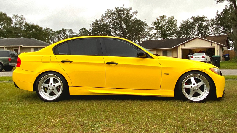 Gloss Bright Yellow wrap by Chris Cook in Orlando, FL