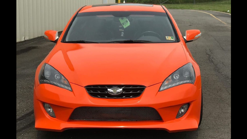 Gloss Orange wrap by Lavish Auto Wraps, Fredericksbury, VA