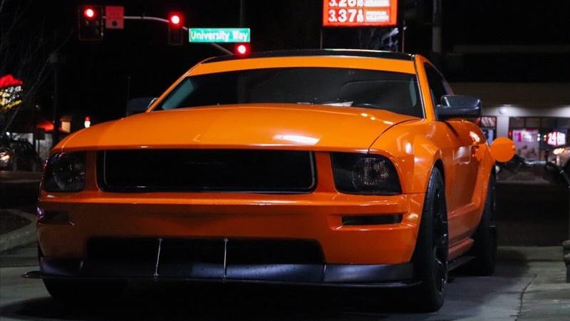 Gloss Orange wrap by Alex Pena, Ellensburg, WA (@3v_alex)