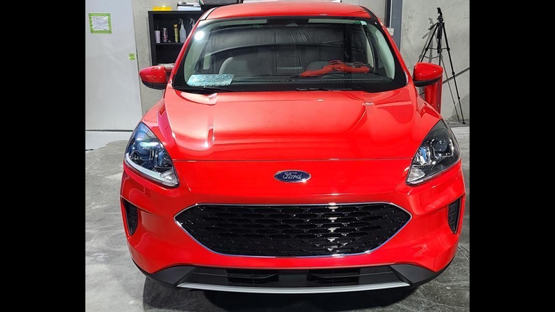 Gloss Racing Red wrap by @gbwraps in Harvey, LA