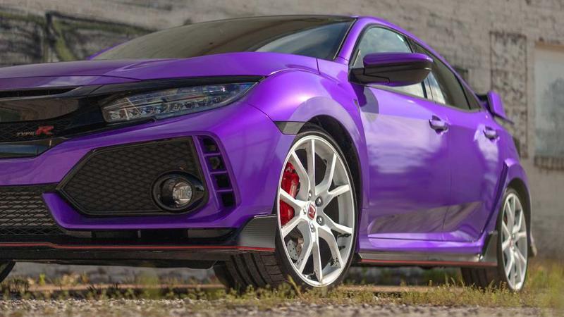 Gloss Passion Purple wrap by Slik Pit Kustoms & Garage in Webb City, MO