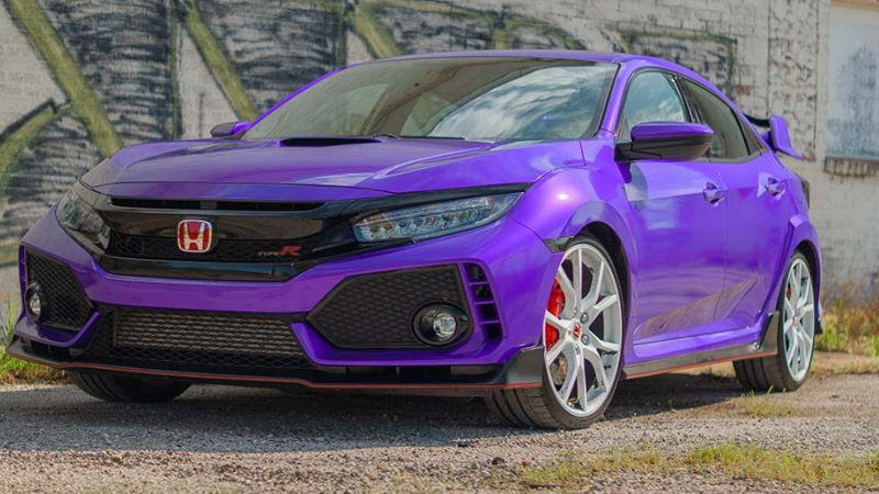 Wrapped in CheetahWrap Gloss Passion Purple by Slik Pit Kustoms & Garage in Webb City, MO