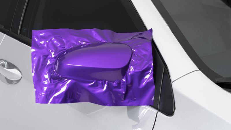 "60"" CheetahWrap Gloss Passion Purple"