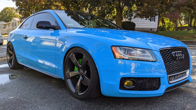 Gloss Light Blue wrap by @cgrecocustoms in Methuen, Mass.