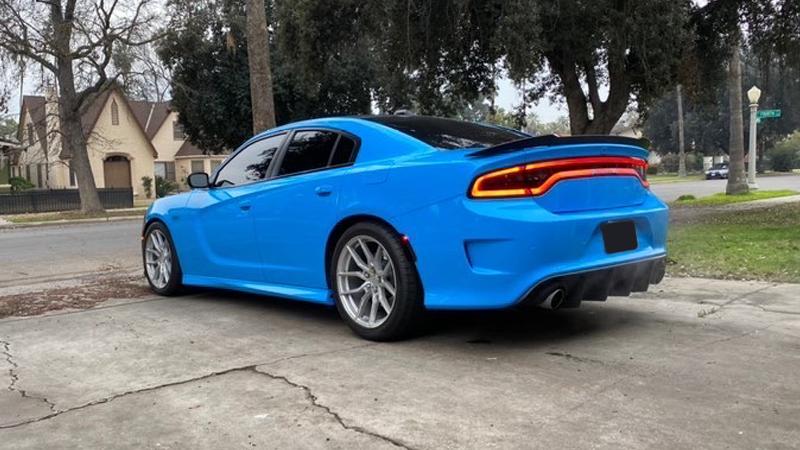 Gloss Light Blue wrap by @Jose_daytona in Fresno, CA