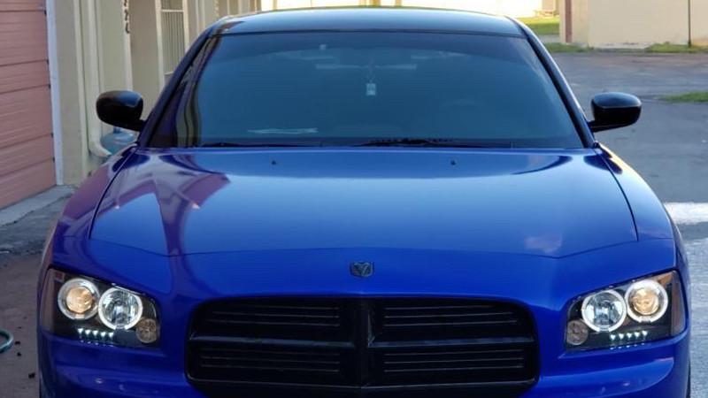 Gloss Dark Blue wrap by Dreams Customs in Miami, FL (@dreams_customs)