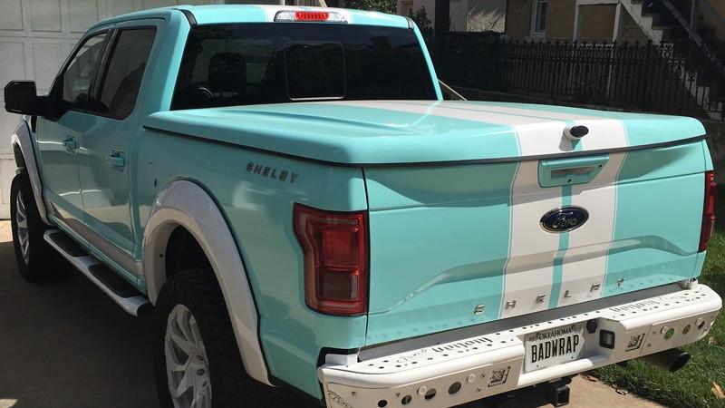 Gloss Mint Blue wrap by LE Wraps in Oklahoma City (lewraps.com)
