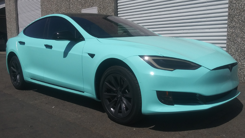 Gloss Mint Blue wrap by Royaltywraps_916 in Sacramento, CA
