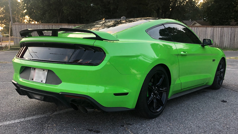 Gloss Grass Green wrap by Sticky Franchise in Memphis, TN (@stickyfranchise)