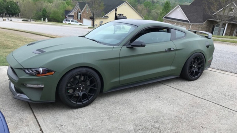 Wrapped in CheetahWrap Matte Military Green by Marcus Mayes, Winder, GA @marcusmayes5