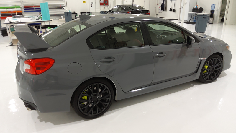 Gloss Nardo Gray wrap by SpeedDwrap in Tulsa, OK (speedDwrap.com)
