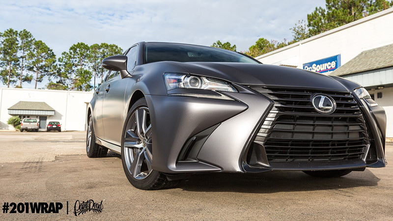 Satin Charcoal Metallic wrapped by 201 Wrap Jacksonville, FL