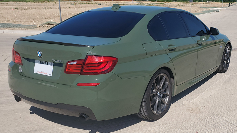 Gloss Military Green wrap by Independent Wraps in Saginaw, TX (@indie_wraps)