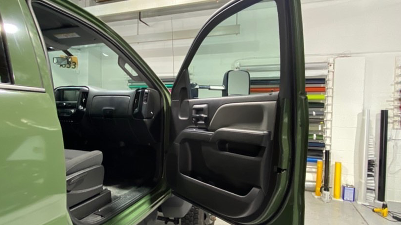 Gloss Military Green wrap by Jay Wraps in New Rochelle, New York