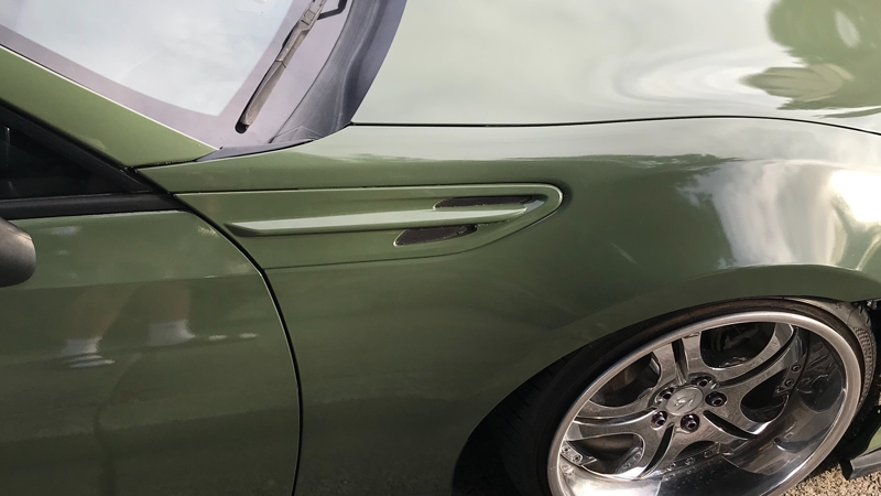 Gloss Military Green wrap by Mario Hernandez in Rohnert Park, CA